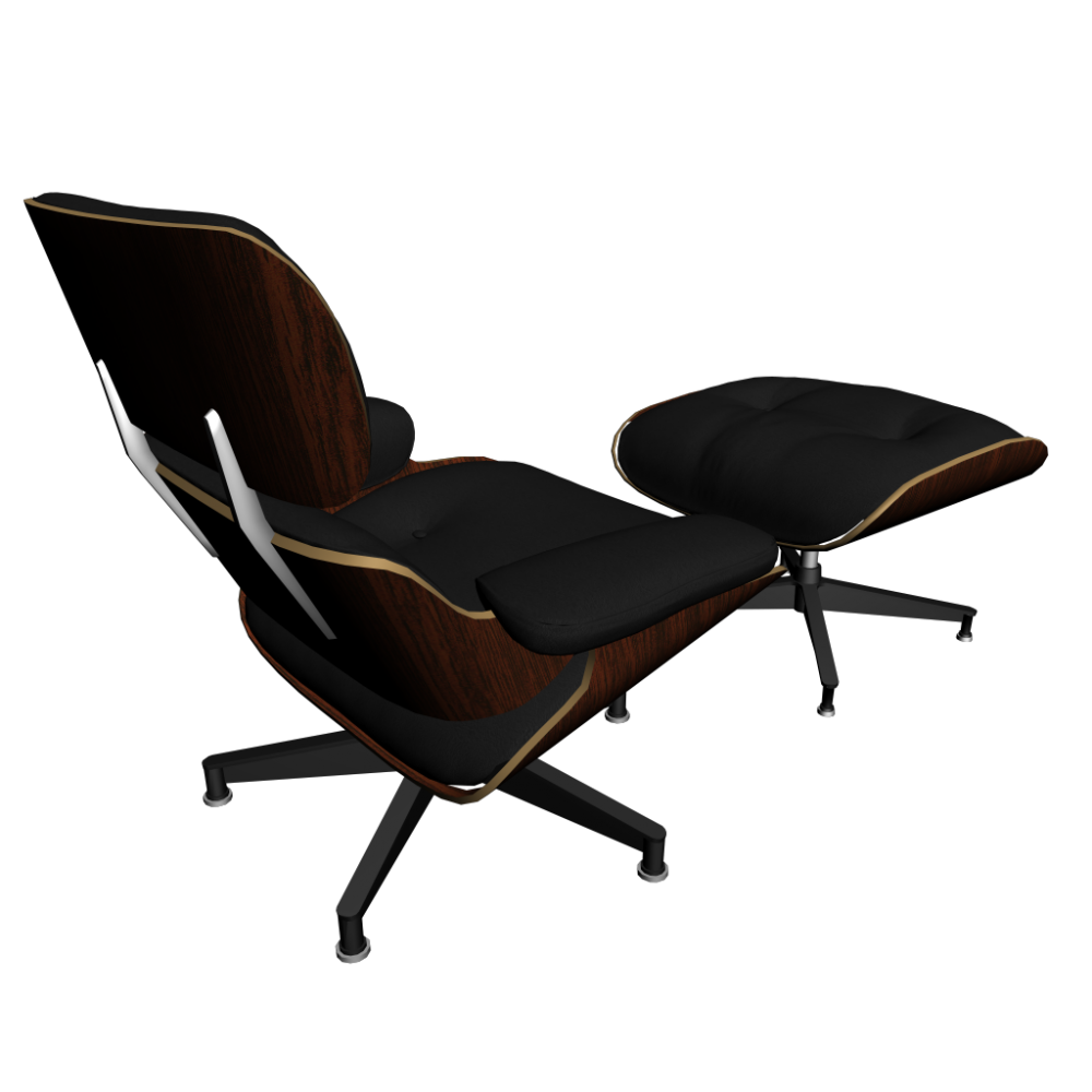 Vitra lounge chair ottoman design and decorate your room for Vitra lounge chair nachbau