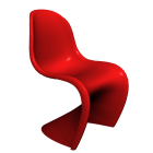 Panton Chair Classic for your 3d room design
