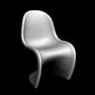 Panton Chair Classic für die 3D Raumplanung