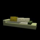 Polder Sofa XL für die 3D Raumplanung