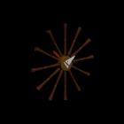 Spindle Uhr von Vitra