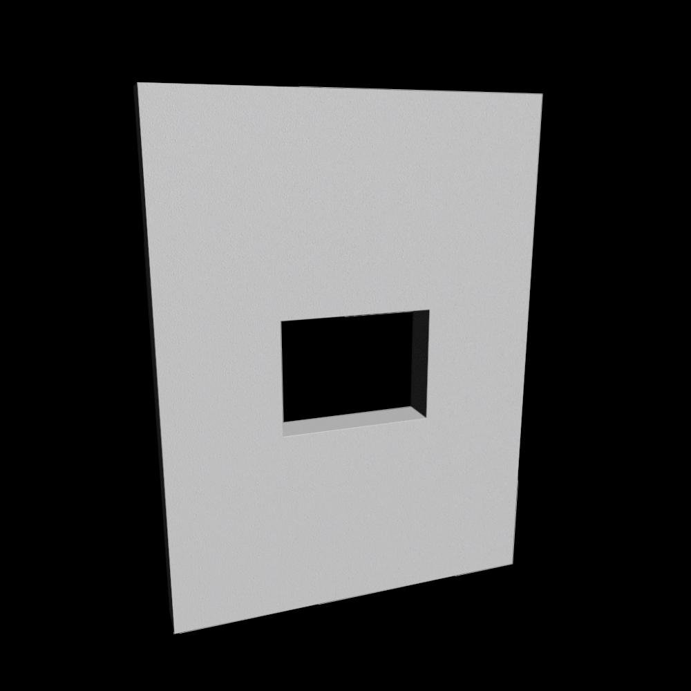wand mit durchreiche einrichten planen in 3d. Black Bedroom Furniture Sets. Home Design Ideas