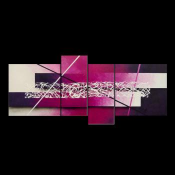 Connection 180 x 80 cm Leinwandbild von WandbilderXXL