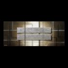 Frozen Blocks 170 x 70 cm Leinwandbild von WandbilderXXL