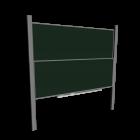 Wandschiebetafel für die 3D Raumplanung