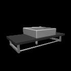 Waschbecken für die 3D Raumplanung