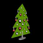 Weihnachtsbaum für die 3D Raumplanung