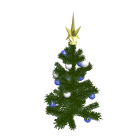 kleiner Weihnachtsbaum für die 3D Raumplanung