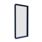 Steel frame window for your 3d room design