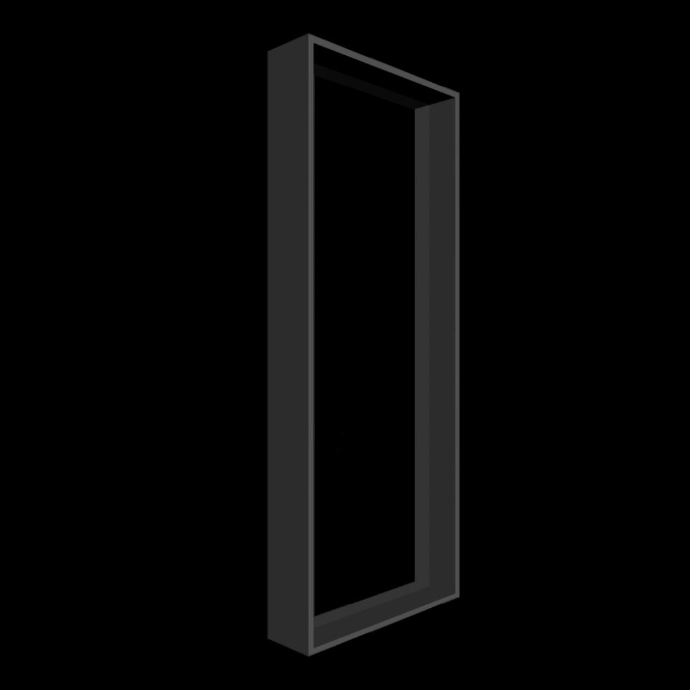 Steel frame window 3 variants windows start 3d room design dimension
