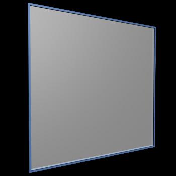 Steel frame window with milk glass