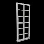 Single-glazed window