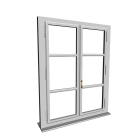 Single-glazed window