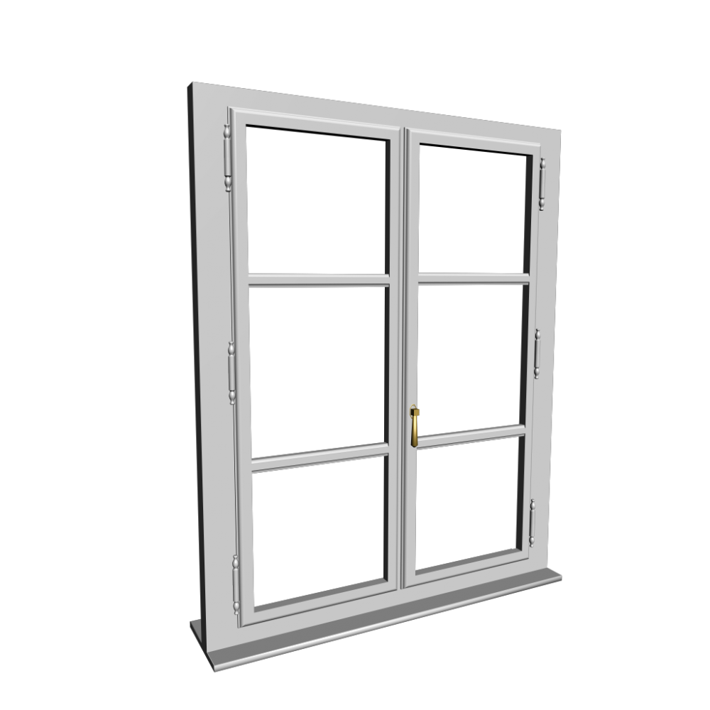 Single glazed window design and decorate your room in 3d for Single window design