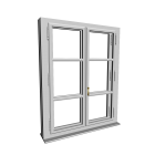 Double-glazed window