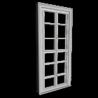 Double-glazed window high