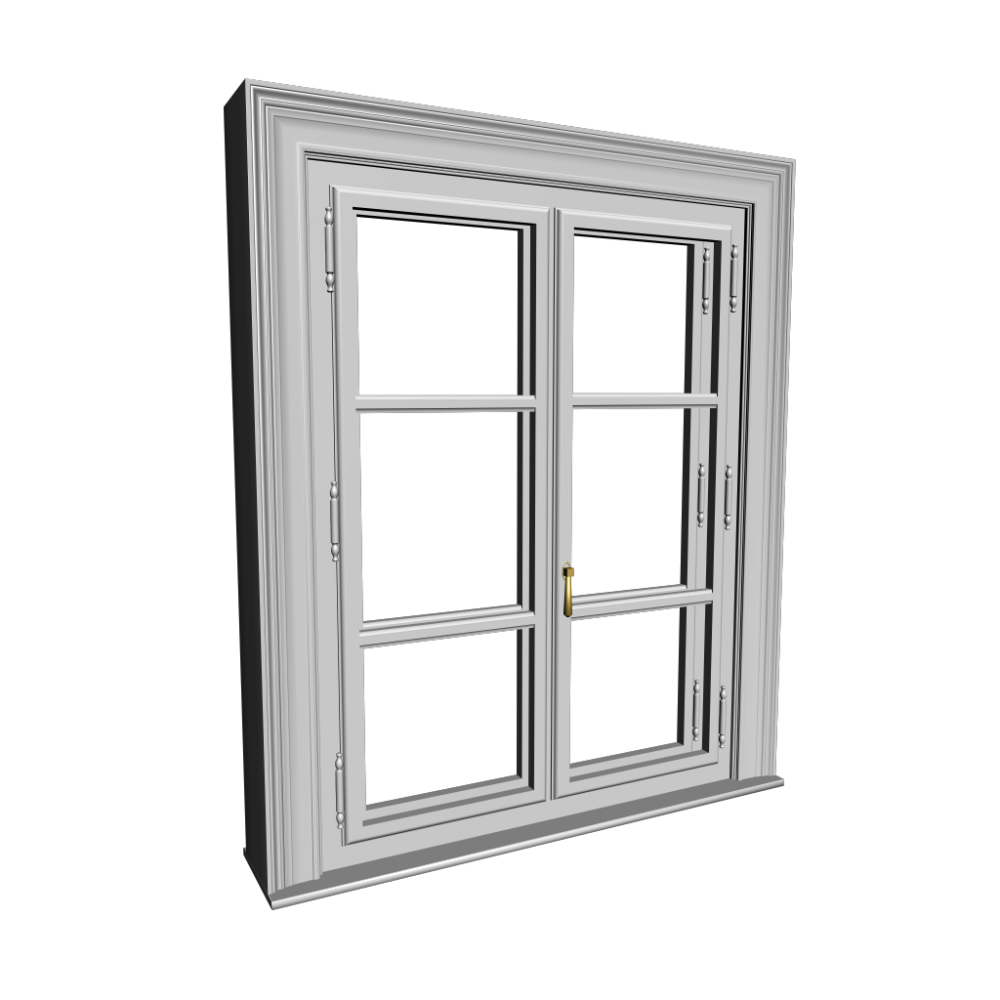 Double glazed window design and decorate your room in 3d for Window design png