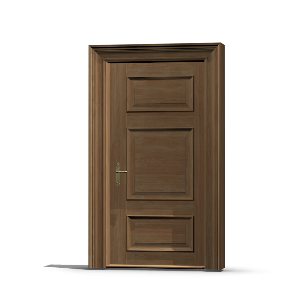 Wooden door design and decorate your room in 3d for Wood door design latest