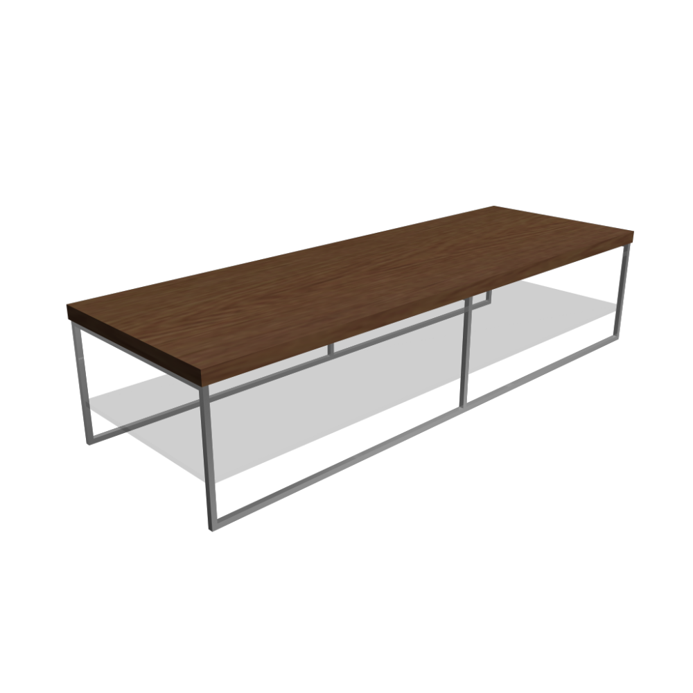 Wooden table with glass plate design and decorate your for Table design 3d