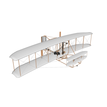 Wright Flugzeug III