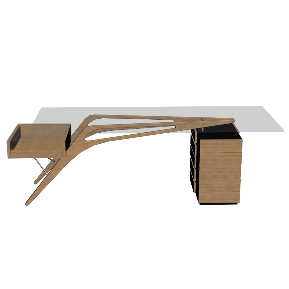 Cavour Desk Design And Decorate Your Room In 3D