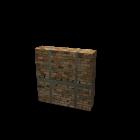 Ziegelwand für die 3D Raumplanung