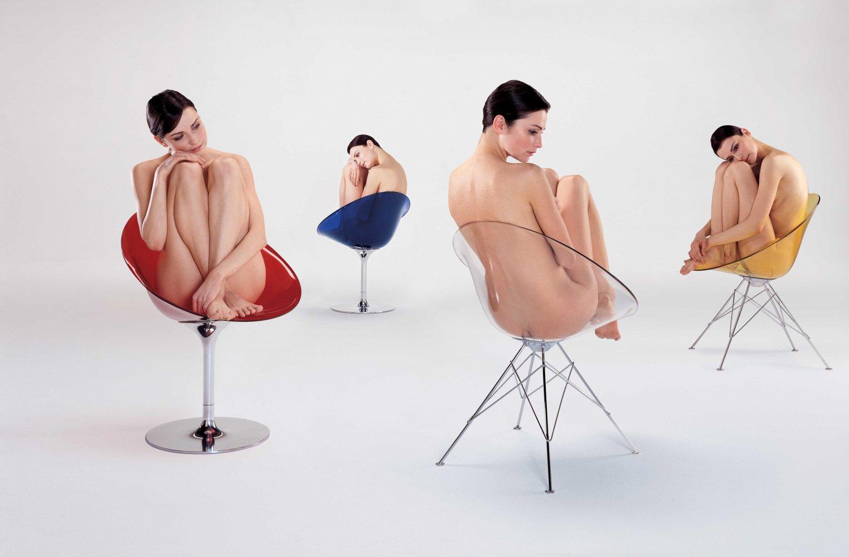 Der Sessel Ero-S von Kartell, wurde vom Designer Philippe Starck entworfen. Ob mit Drahtfuss oder Retro-Fuss, dieser Sessel ist schon jetzt ein echter Designklassiker.