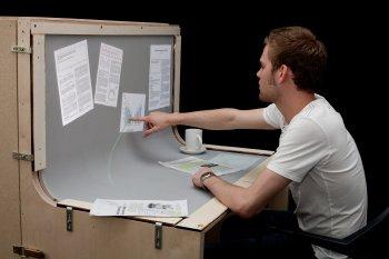 Bend Desk von Malte Weiss, Simon Voelker und Jan Borchers
