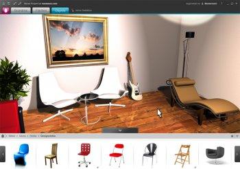 Der Roomeon Raumplaner mit 3D Echtzeit Grafik