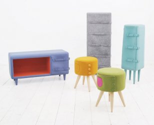 Dressed up Furniture