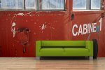Fototapete Cabine 1 für das perfekte Großstadtfeeling© monofaktur