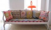 Farbtupfer für jedes Wohnzimmer© Annabel Grey Fabrics