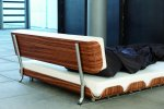 Tiefschlaf mit Rückenlehne© Stadtnomaden, Foto: Martin Sigmund