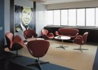 Swan, Lounge Alberto K      © Republic of Fritz Hansen(TM), Swan (TM) designed by  Arne Jacobsen