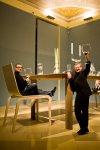 Ausstellung: Barocker Glanz und Stainless Steel - Olgoj Chorchoj (CZ) mit ihrer Installation© Kollektiv Fischka/fischka.com