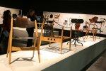 hölzerne Sitzgelegenheiten auf der imm cologne© http://www.flickr.com/photos/design_lounge/