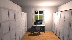 Raumgestaltung Akin Ankleide in der Kategorie Ankleidezimmer