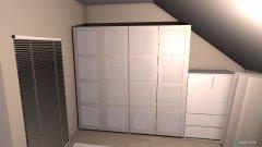 Raumgestaltung Ankleide 2 in der Kategorie Ankleidezimmer
