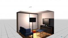 Raumgestaltung ankleide Schiebetür in der Kategorie Ankleidezimmer
