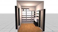 Raumgestaltung Ankleide in der Kategorie Ankleidezimmer