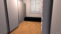 Raumgestaltung Ankleidezimer in der Kategorie Ankleidezimmer