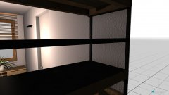 Raumgestaltung Ankleidezimmer EG in der Kategorie Ankleidezimmer