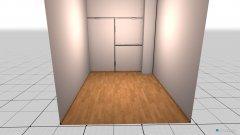 Raumgestaltung Ankleidezimmer OG in der Kategorie Ankleidezimmer