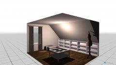 Raumgestaltung ankliede in der Kategorie Ankleidezimmer