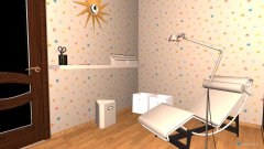 Raumgestaltung apskates in der Kategorie Ankleidezimmer