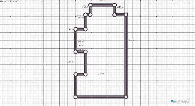 Raumgestaltung Arbeits-Chill-Zimmer2 in der Kategorie Ankleidezimmer