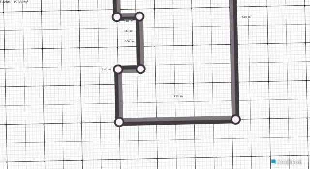 Raumgestaltung Arbeits-Chill-Zimmer in der Kategorie Ankleidezimmer