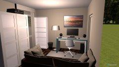 Raumgestaltung Arbeitszimmer 3 in der Kategorie Ankleidezimmer