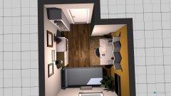 Raumgestaltung Arbeitszimmer Juleni in der Kategorie Ankleidezimmer