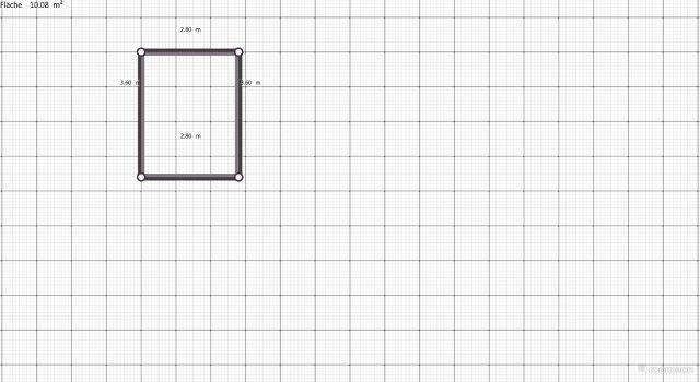 Raumgestaltung Arbeitszimmer in der Kategorie Ankleidezimmer